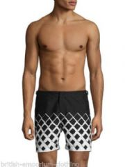 ORLEBAR BROWN + Marcello Morandini Monochrome Bulldog Swim Shorts BNWT Size 30""